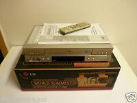 LG LV4745 VHS-Videorecorder in OVP, inkl. BDA & FB, 2 Jahre Garantie