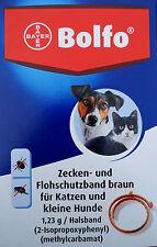 Flohhalsband Bolfo für Katzen und kleine Hunde , Zeckenhalsband Bolfo Katze,Hund