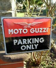 MOTO GUZZI Motorcycles - PARKING ONLY - Official Large Wall Sign