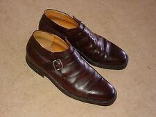 SUTOR MANTELLASSI men's monkstrap boots dress shoes 9.5 43 Italy