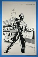 Shadowman End Times #1 page 26 Full Page SPLASH Valiant Comics Original Art 2014