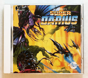 PC ENGINE CD-ROM² SYSTEM • Super Darius • Taito • Boxed • Japan