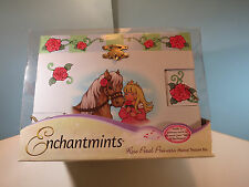 ENCHANTMINTS Musical Treasure Box For Children By Reeves-Rose Petal Princess-NIB