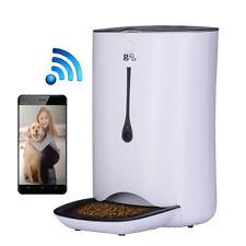 7L Remote Automatic Pet Feeder Animal Food Dispenser Smart Feeder for Cat Dog
