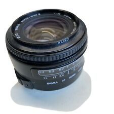 Sigma AF Super Wide II 24mm f2.8 Multi Coated Canon EF Mount Lens For Film Eos
