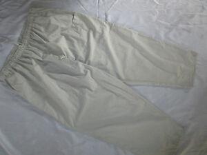 Lou Scrubs Women Easy Fit Elastic Scrub Pant Cargo & Frt Side Pockets  4XL #623
