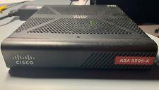 Cisco ASA 5506-X Network Security/Firewall Appliance -Base license