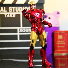 Marvel Universe Iron Man 2 Mark 6 MK VI Tony Collectible Model Action Figure Toy