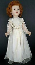"AMERICAN CHARACTER SWEET SUE Hard Plastic Walker Doll 18"" 1950's"