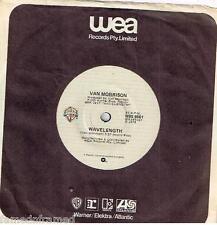 "VAN MORRISON - WAVELENGTH - RARE 7"" 45 VINYL RECORD - 1978"