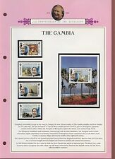 Mint Never Hinged/MNH Gambian Omnibus Issues