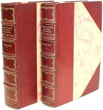 LENOTRE - Romances of The French Revolution - IN A FINE LEATHER BINDING!
