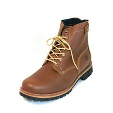 MEN'S TIMBERLAND EK  *HERITAGE RUGGED BACK ZIP BOOT* LT BROWN SIZE 8.5 W