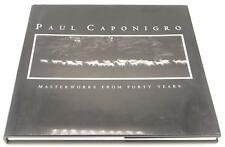 Paul Caponigro Masterworks From Forty Years 1993 Signed 1st Edition HC DJ