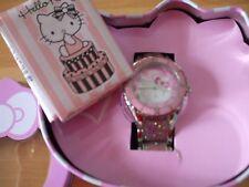 OROLOGIO HELLO KITTY DONNA ZR25070 Acciaio Smalto Rosa Pink Lady Watch