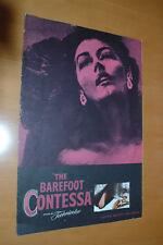 Humphrey Bogart Ava Gardner the Barefoot Contessa 1954 Genuine Original