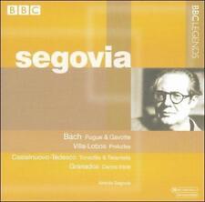 """Segovia """"Bach-Castelnuovo/Tedesco-Villa Lobos-Granados (ADD, BBC Legends 2002)"""