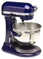KitchenAid Stand Mixer 450-Watts 10-Speed 5-Quart RKg25h0XBU Cobalt Blue Pro HD