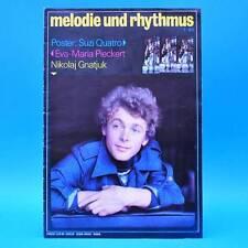 DDR Melodie und Rhythmus 1/1980 Suzi Quatro Bob Dylan Cat Stevens Achim Mentzel