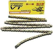 D.I.D ENDURO RACING 520VT2-112 X-RING CHAIN (GOLD) PART# 520VT2-112 690-37112