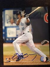 Delmon Young Signed Autographed 8 X 10 Baseball Photo Single Auto Picture