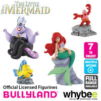Official Bullyland Disney The Little Mermaid Figurines - 7 Cake Topper Figures