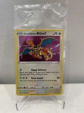 Special Delivery Bidoof SWSH177 HOLO Promo Pokemon Card Sealed Charizard RARE