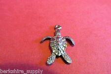 Fifty Pewter Sea Turtle Tortoise Charms
