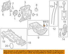 MERCEDES OEM 12-15 C350 3.5L-V6 Engine Oil Pan-Drain Plug Gasket 007603014106