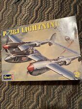 Revell P-38J Lightning-1/48 Scale Model Kit