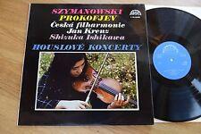 SHIZUKA ISHIKAWA Szymanowski Prokofiev KRENZ LP Supraphon 1101639 stereo