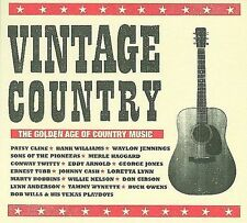 Various Artists : Vintage Country: The Golden Age of Country Music CD