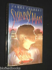 SIGNED FIRST EDITION: Skinny Man - James Colbert - 1991-1st Ed/Imp Crime Fiction