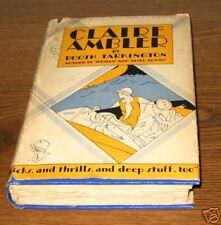 CLAIRE AMBLER Booth Tarkington First  Edition Ed 1928