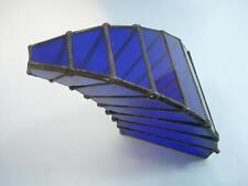 1920's ANTIQUE ART DECO COBALT BLUE GLASS DECORATION