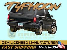 1992 1993 GMC Truck Typhoon Decals & Stripes Kit
