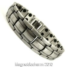 MENS QUALITY BIO MAGNETIC HEALING BRACELET FOR ARTHRITIS 36 STRONG MAGNETS