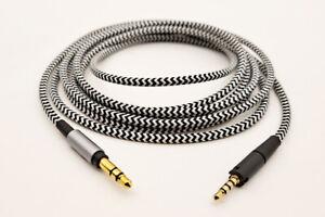 Replace nylon Audio Cable For Sennheiser HD 400S headphones