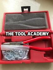 Britool Marque Of Skill Hog Ring Pliers Set With Hog Rings In Case