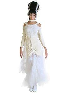 Women's Bride of Frankenstein Costume SIZE 3X (Used)