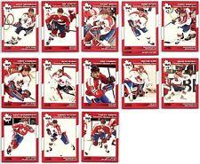 1992-93 SCORE TEAM CANADA OLYMPIANS INSERTS - FINISH SET - PICK SINGLES Rare BV