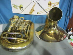 Mirafone 4 Valve Rotary Tuba