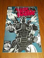 IRON MAN #282 MARVEL COMICS 1ST APP WAR MACHINE JULY 1992