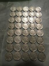 Roll of Full Date Buffalo Nickels, 40 coins