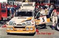 Carlos Sainz Renault 5 Maxi Turbo Rallye des social 1986 fotografía 1