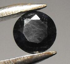 Australian Natural Sapphire 5mm Round Dark Blue / Black