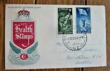 BOY SCOUTS 1954 HEALTH STAMPS SET FDC NEW ZEALAND