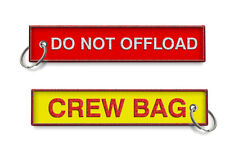 Do Not Offload -Crew Bag Keychain X2
