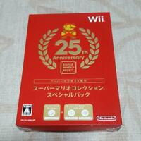 Super Mario Collection Special Pack Nintendo Wii 25th Anniversary Game software