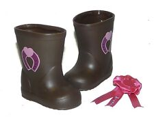 """Battat Western Boots Pink 1st Place Ribbon Fits 18"""" Our Generation American Girl"""